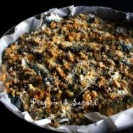 Tortino di sarde con  insalata di finocchi e arance
