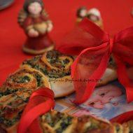 Ghirlanda di pizza natalizia