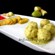 Polpettine speziate al curry con mela croccante