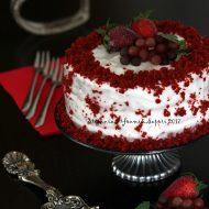 Chiffon cake alla barbabietola