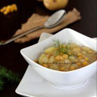 Zuppa moldava di patate e mais