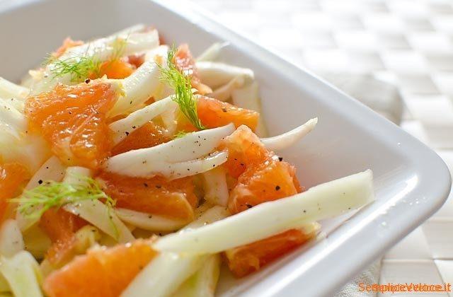 insalata finocchi e arance