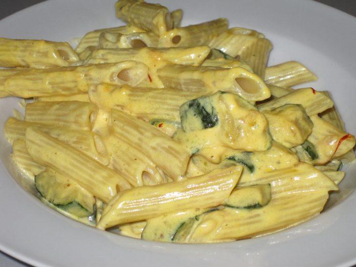 pasta con zucchine e mascarpone