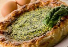 Crostata salata ricotta e spinaci