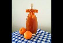 Liquore speziato all'arancia