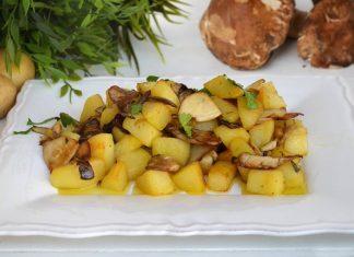 Funghi e patate
