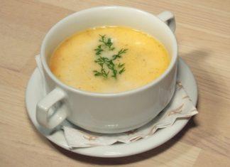 Zuppa di mais e patate