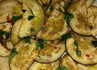 Antipasto di melanzane